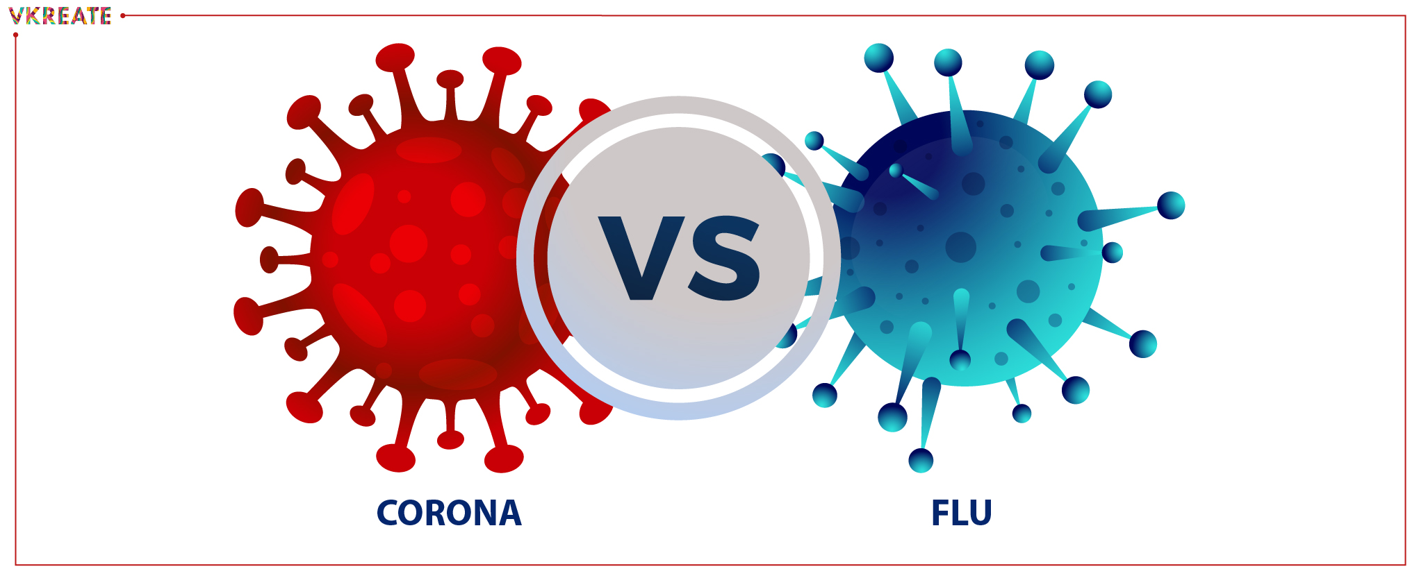 Coronavirus vs Flu: Symptoms and Cure